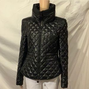 Women's Moncler Black Jacket. NWOT.